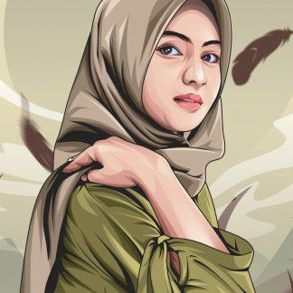 Cartoon Portrait, Cartoon Portrait, Vector Illustration, Custom Drawing